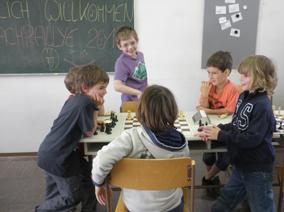 Kinderschachturnier in Landeck
