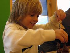 Schnuppern an der Tiroler Schachschule