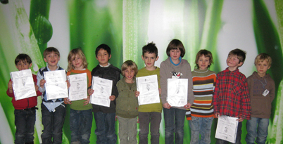 Zeugnistag an der Tiroler Schachschule