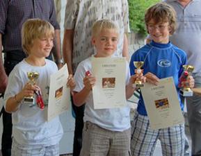 Zwei neue Gewinner bei der Jugend-Schachrallye