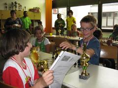 Bilder und Ergebnisse vom 1. Tiroler Schachschulturnier