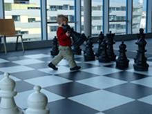 """Tiroler Schachschule präsentierte sich auf der """"spiel aktiv"""""""