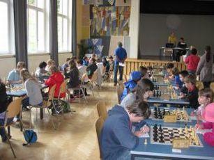 Tiroler Schachschüler spielen in Landeck groß auf
