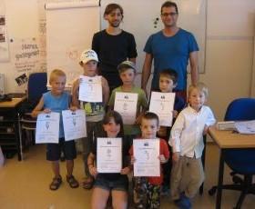 Zeugnisse an der Tiroler Schachschule