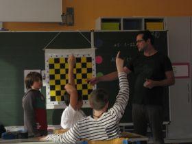 Der Schachschule Allerheiligstes