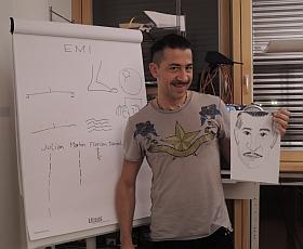 Zeichnen mit Emi