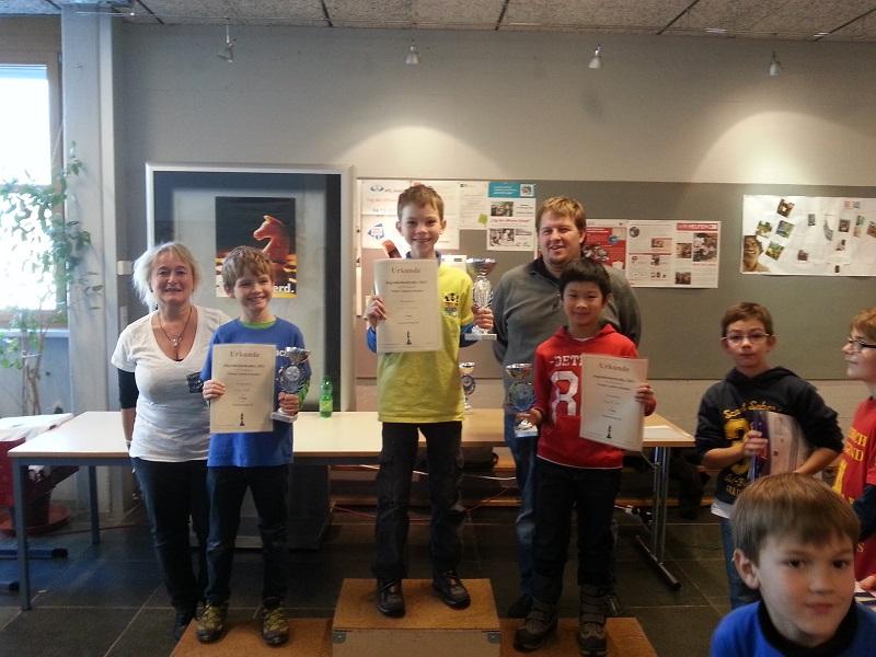 Letzte und siebte Jugendrallye mit zwei Gesamtsiegern für die Tiroler Schachschule!