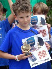Sieg bei der Schachrallye 2015 in Langkampfen