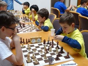 Tir. Schachschule 5: Emanuel SCHWEIGHOFER, Leonhard ENDER, Anand MYAGMAR, Amarbayar MYAGMAR