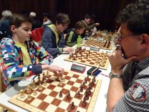 Mannschaft der Tiroler Schachschule