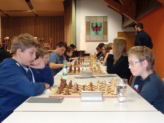 Tiroler Jugendschachrallye in Langkampfen