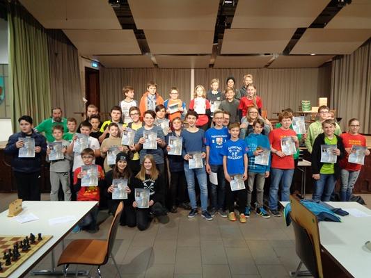 Alle Teilnehmer der Gruppe A.